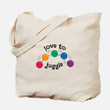 Love To Juggle Tote Bag