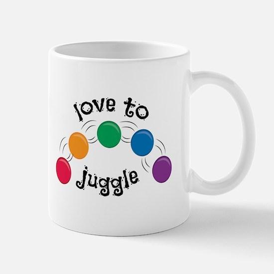 Love To Juggle Mugs