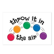 Throw It Postcards (Package of 8)