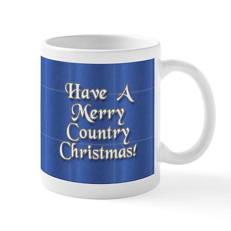 Country Christmas Mug