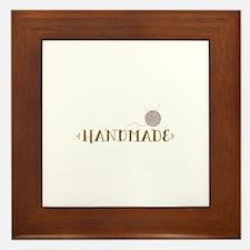 Handmade Framed Tile