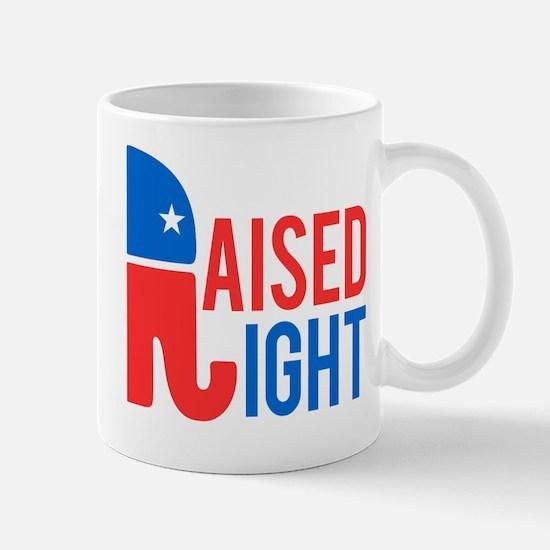 Raised Right Conservative Mug
