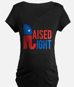 Raised Right Conservative T-Shirt
