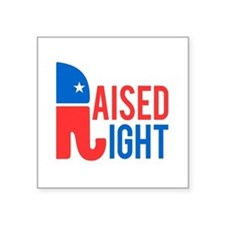 Raised Right Conservative Sticker