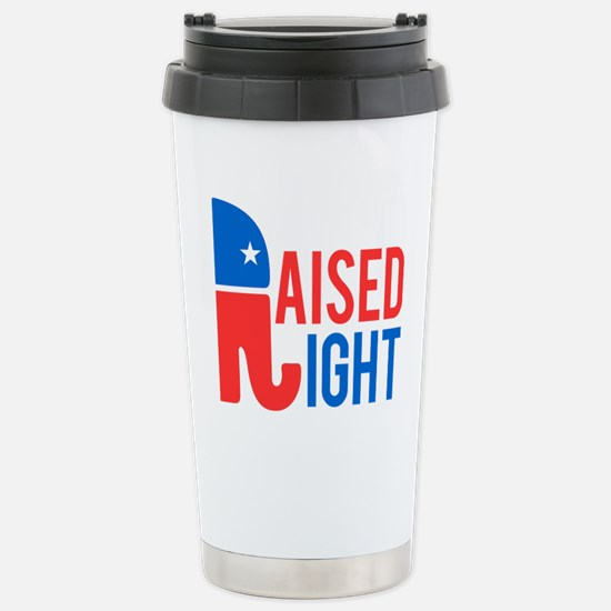 Raised Right Conservati Stainless Steel Travel Mug