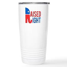 Raised Right Conservati Travel Mug