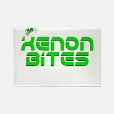 Xenon Bites Rectangle Magnet