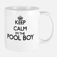 Keep calm I'm the Pool Boy Mugs