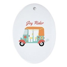 Joy Rider Ornament (Oval)