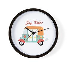 Joy Rider Wall Clock