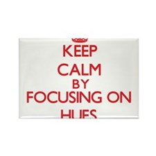 Keep Calm by focusing on Hues Magnets