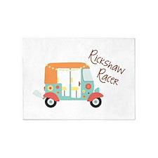 Rickshaw Racer 5'x7'Area Rug