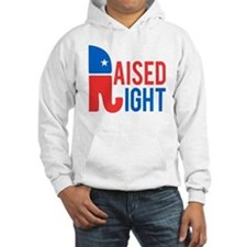 Raised Right Conservative Hoodie