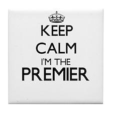 Keep calm I'm the Premier Tile Coaster