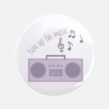 """Turn Up Music 3.5"""" Button (100 pack)"""