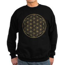 Flower of Life Gold Line Jumper Sweater