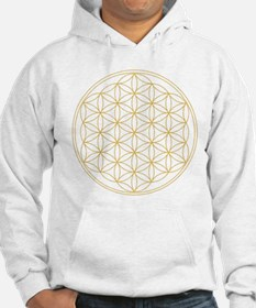 Flower of Life Gold Line Hoodie