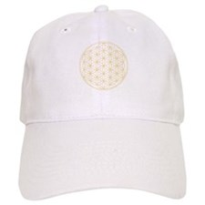 Flower of Life Gold Line Baseball Cap