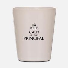Keep calm I'm the Principal Shot Glass
