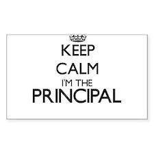 Keep calm I'm the Principal Decal