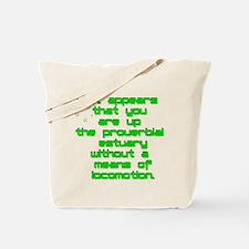 SQ1 Proverbial Estuary Tote Bag