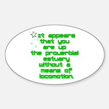 SQ1 Proverbial Estuary Oval Decal