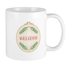Welcome Evergreens Mugs