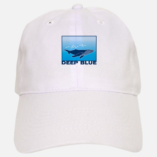 high crown baseball caps deep hats extra blue sea whale design cap