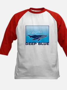 Deep Blue Sea Whale Design Tee