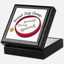 Proud Dog Owner Keepsake Box