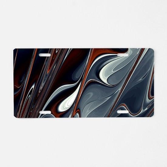 Extinguish Aluminum License Plate