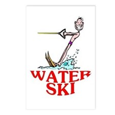 Let's Water Ski! Postcards (Package of 8)