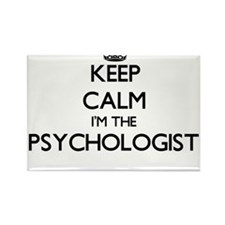 Keep calm I'm the Psychologist Magnets