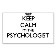Keep calm I'm the Psychologist Decal