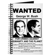 George W. Bush - Wanted Journal