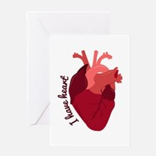 I Have Heart Greeting Cards