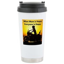 When Mom is Happy... Travel Mug
