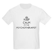 Keep calm I'm the Psychotherapist T-Shirt