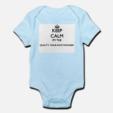 Keep calm I'm the Quality Assurance Mana Body Suit