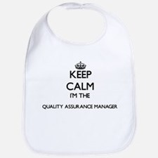 Keep calm I'm the Quality Assurance Manager Bib