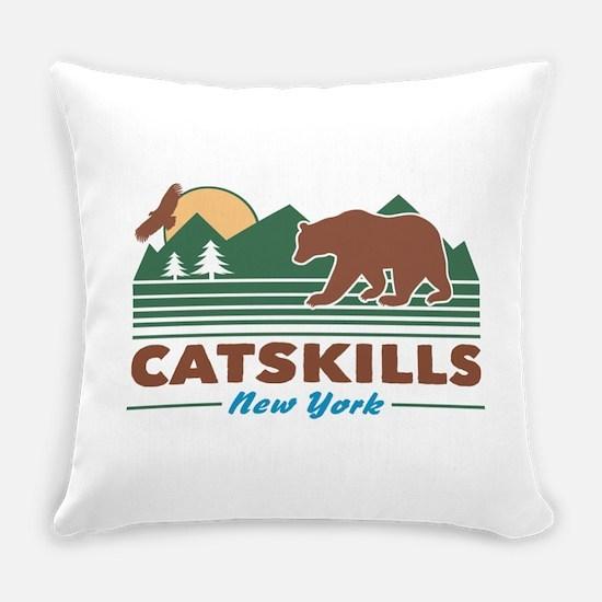 Catskills New York Everyday Pillow