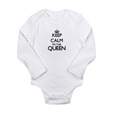 Keep calm I'm the Queen Body Suit