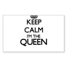 Keep calm I'm the Queen Decal