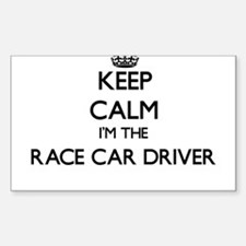 Keep calm I'm the Race Car Driver Decal
