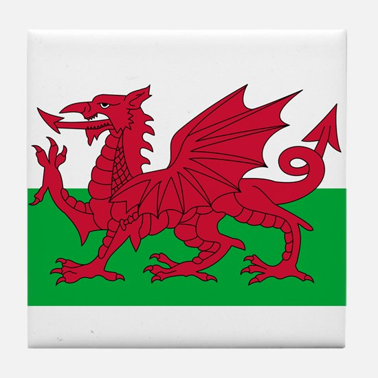 wales-flag-4000w.png Tile Coaster