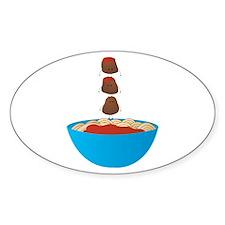 Spaghetti & Meatballs Decal