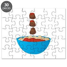 Spaghetti & Meatballs Puzzle