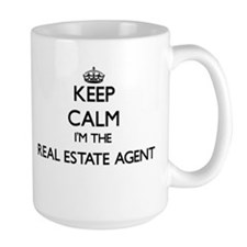 Keep calm I'm the Real Estate Agent Mugs