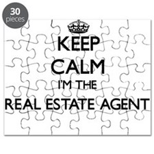 Keep calm I'm the Real Estate Agent Puzzle