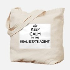 Keep calm I'm the Real Estate Agent Tote Bag